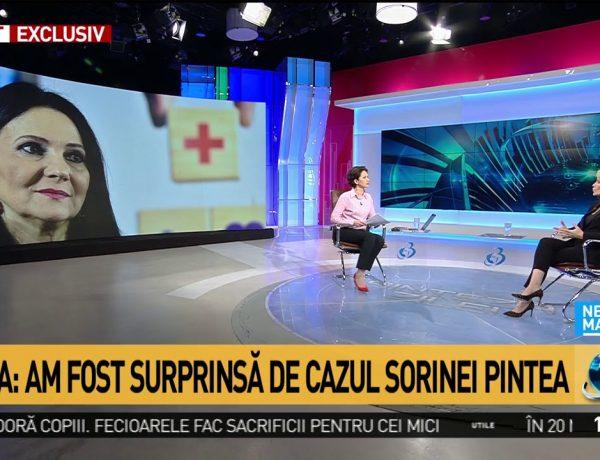 Gabriela Firea vorbeste despre Sorina Pintea